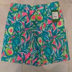 Lily Pulitzer avocado shorts, boys 10